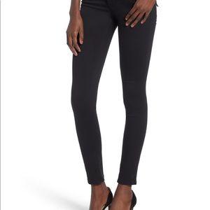 Hudson Colin Flap Skinny Jean in Black Sz 26 NWOT